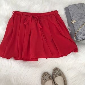 Forever 21 skirt with built in shorts